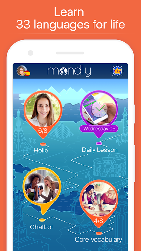 Learn languages Free – Mondly screenshots 2
