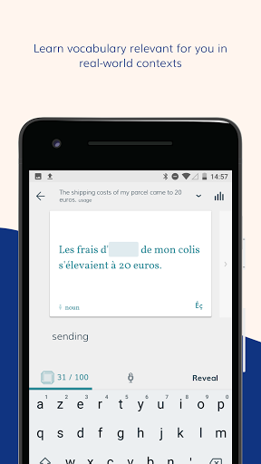Lingvist learn a language fast screenshots 1