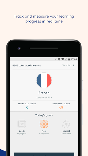 Lingvist learn a language fast screenshots 3