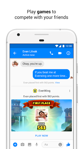 Messenger Text and Video Chat for Free screenshots 5