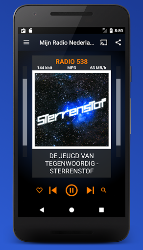 Mijn Radio Nederland – Supports Chromecast. 2.1.0 screenshots 2