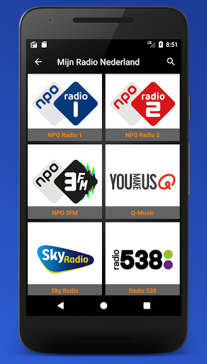 Mijn Radio Nederland – Supports Chromecast. 2.1.0 screenshots 3