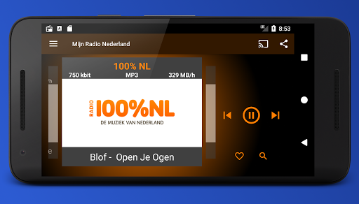 Mijn Radio Nederland – Supports Chromecast. 2.1.0 screenshots 6
