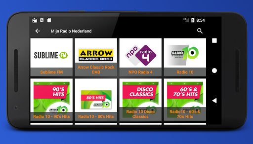 Mijn Radio Nederland – Supports Chromecast. 2.1.0 screenshots 7