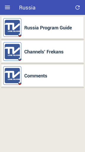 Mobile TV Guide Online 1.2 screenshots 3
