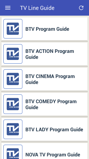 Mobile TV Guide Online 1.2 screenshots 4
