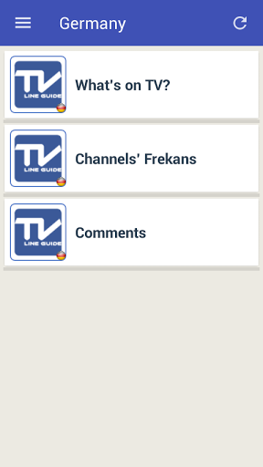 Mobile TV Guide Online 1.2 screenshots 6