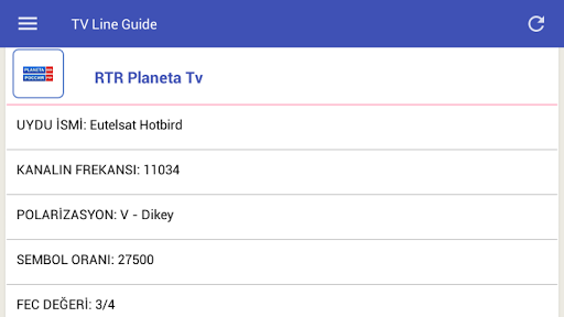Mobile TV Guide Online 1.2 screenshots 9