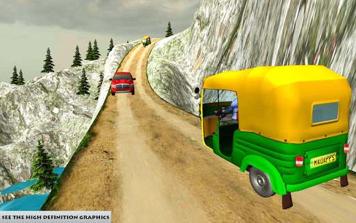 Mountain Auto Tuk Tuk Rickshaw – free games 1.0 screenshots 2