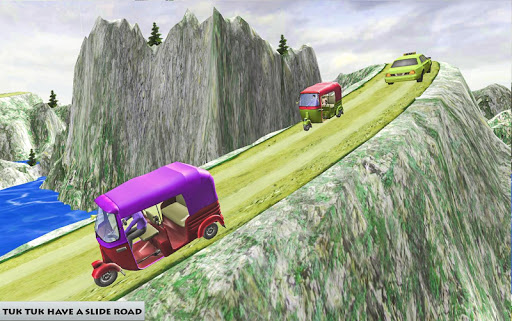 Mountain Auto Tuk Tuk Rickshaw – free games 1.0 screenshots 3