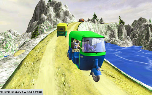 Mountain Auto Tuk Tuk Rickshaw – free games 1.0 screenshots 4