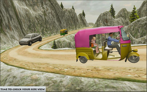 Mountain Auto Tuk Tuk Rickshaw – free games 1.0 screenshots 6