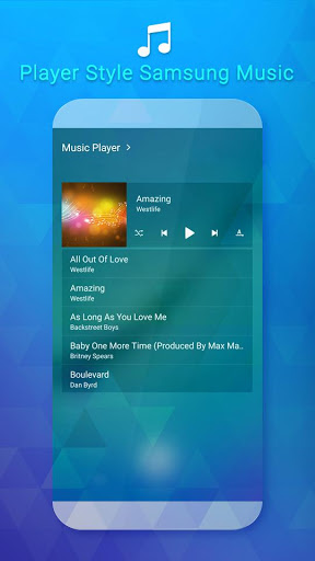 Mp3 Player For SS Galaxy 6.9 screenshots 6