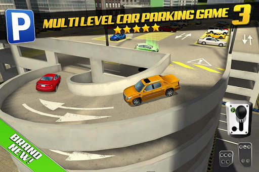 Multi Level 3 Car Parking Game screenshots 1