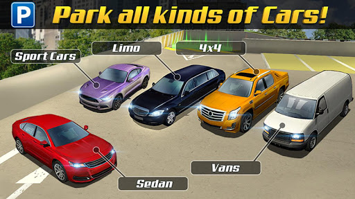 Multi Level 3 Car Parking Game screenshots 12