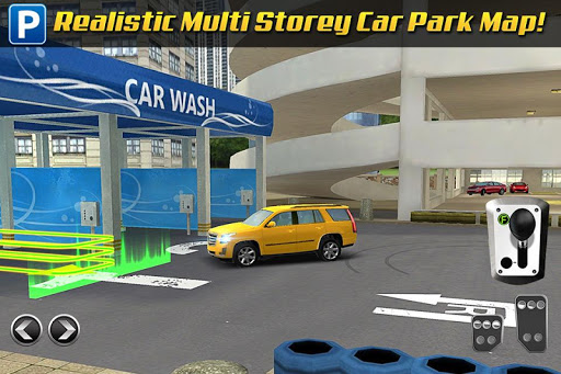Multi Level 3 Car Parking Game screenshots 3