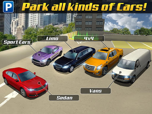Multi Level 3 Car Parking Game screenshots 7
