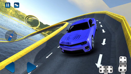 Muscle Car – Impossible Tracks Driving Challenge 1.0.2 screenshots 5