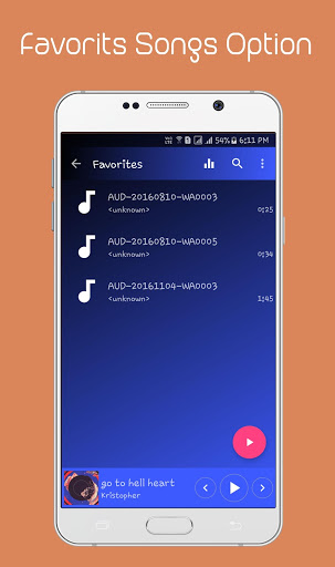 Music Player 1.2.7 screenshots 5