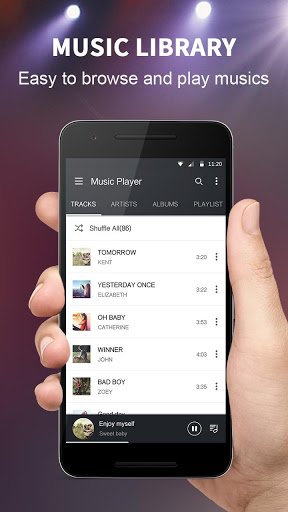 Music Player – Colorful Themes amp Equalizer 1.8.0 screenshots 1