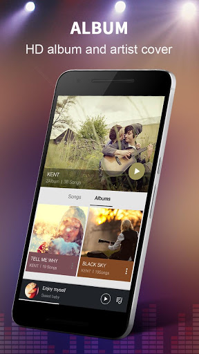 Music Player – Colorful Themes amp Equalizer 1.8.0 screenshots 3