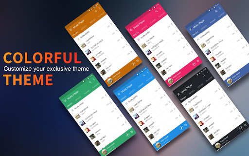 Music Player – Colorful Themes amp Equalizer 1.8.0 screenshots 8