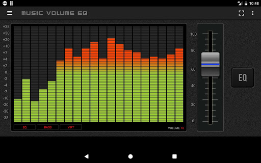 Music Volume EQ Bass Booster 3.6 screenshots 11