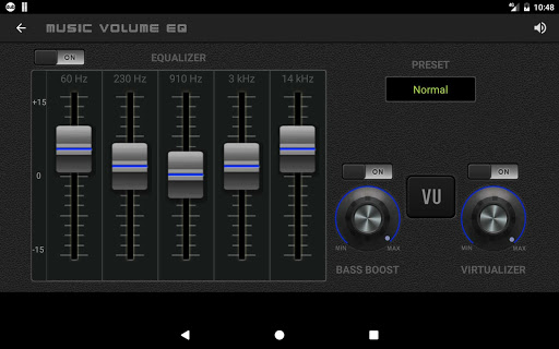 Music Volume EQ Bass Booster 3.6 screenshots 12