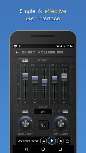 Music Volume EQ Bass Booster 3.6 screenshots 2