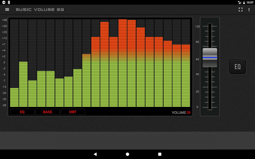 Music Volume EQ Bass Booster 3.6 screenshots 9