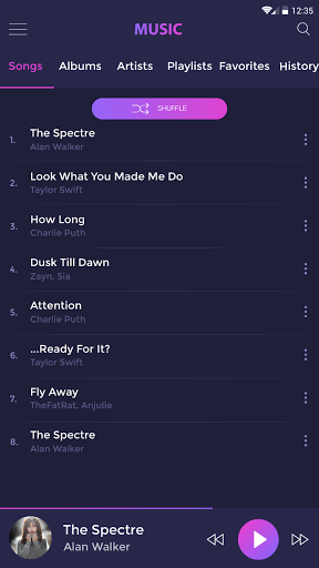 Music player 1.1.5 screenshots 8