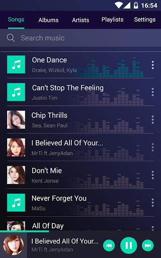 Music player 1.20 screenshots 10