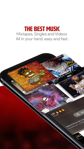 My Mixtapez Free Music amp Audio 7.2.18 screenshots 4
