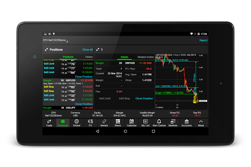 NetDania Stock amp Forex Trader 3.4.6 screenshots 13