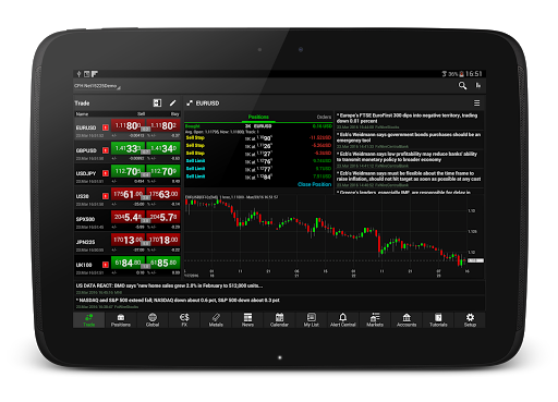 NetDania Stock amp Forex Trader 3.4.6 screenshots 6