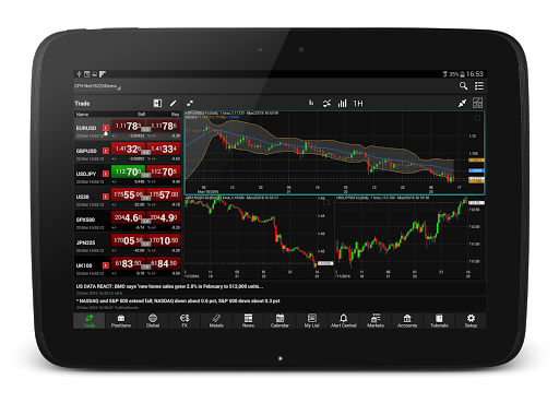 NetDania Stock amp Forex Trader 3.4.6 screenshots 7