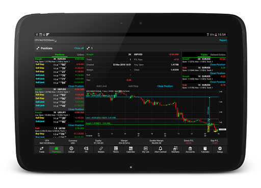 NetDania Stock amp Forex Trader 3.4.6 screenshots 8