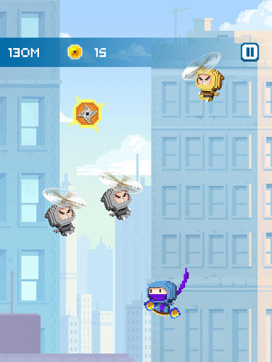 Ninja Up – Endless arcade jumping 1.0.1j screenshots 12