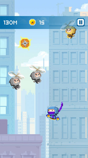 Ninja Up – Endless arcade jumping 1.0.1j screenshots 6
