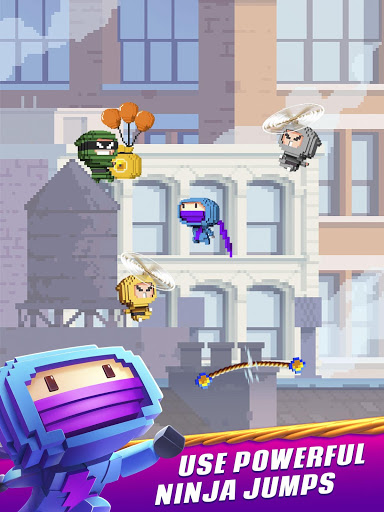 Ninja Up – Endless arcade jumping 1.0.1j screenshots 7