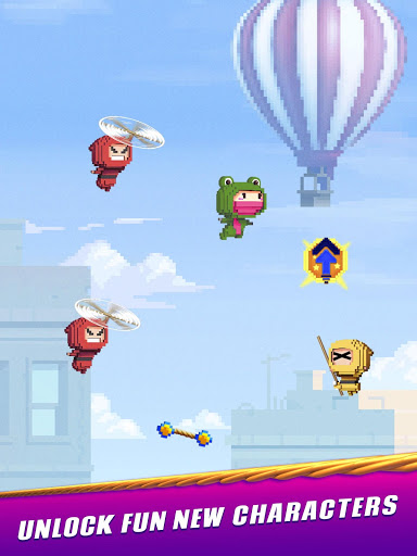 Ninja Up – Endless arcade jumping 1.0.1j screenshots 9