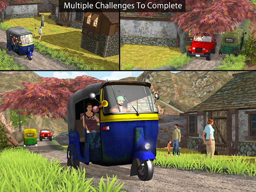 Off Road Tuk Tuk Auto Rickshaw 1.6 screenshots 12