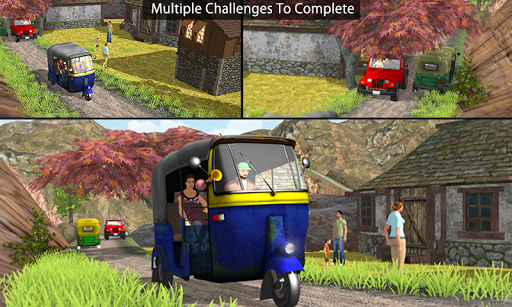 Off Road Tuk Tuk Auto Rickshaw 1.6 screenshots 4