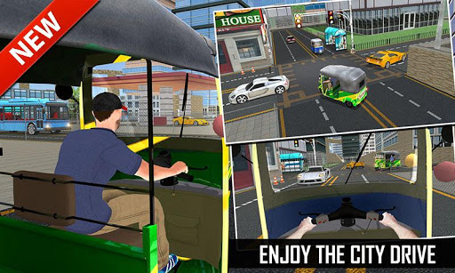 Off Road Tuk Tuk Auto Rickshaw 1.6 screenshots 8