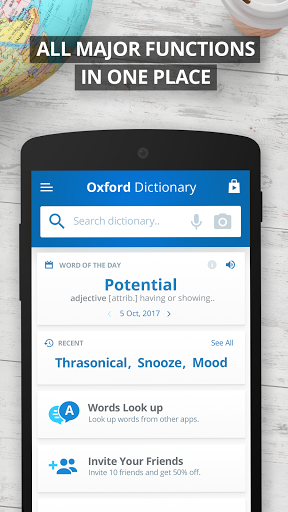 Oxford Dictionary of English Free 9.1.284 screenshots 3