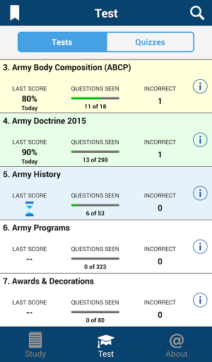 PROmote – Army Study Guide screenshots 2