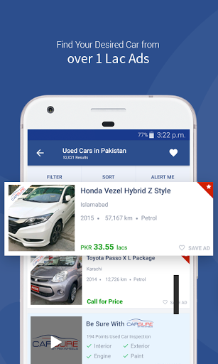 PakWheels Buy amp Sell Cars 9.9.0 screenshots 3