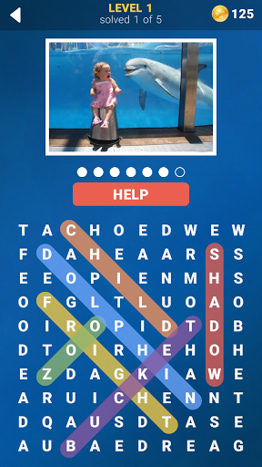 Photo Word Search 1.0.1 screenshots 5