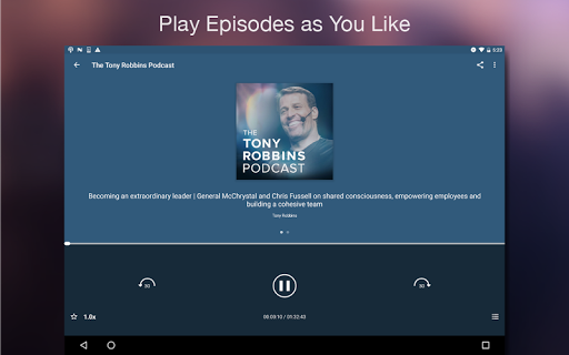 Podcast Player 5.4.9-171227055.r0a5485c screenshots 7