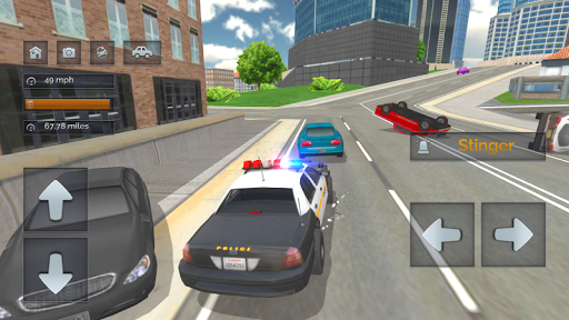 Police Car Crazy Drivers screenshots 13